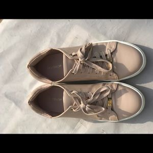 TopShop Mauve/Cream and White Shoes Size 11